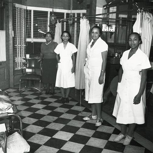 Estella's Beauty Salon, April 1939, Wilmington, Delaware