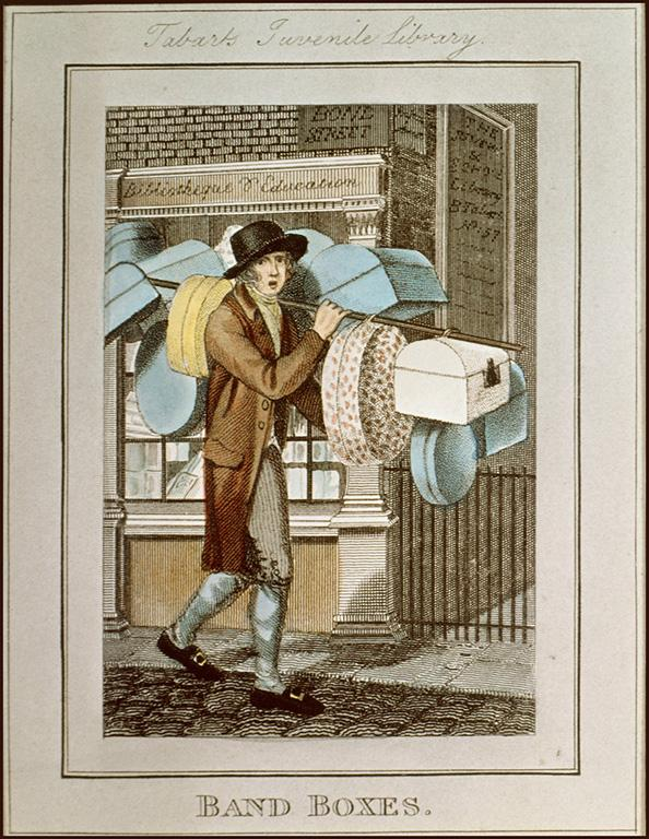 William Marshall Craig, itinerant Traders of London, 1804