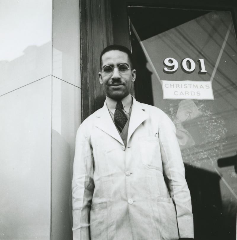 Pharmacist John Davidson, 1939