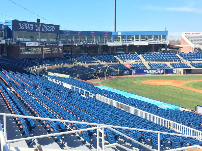 The Blue Rocks have called Frawley Stadium home since 1993