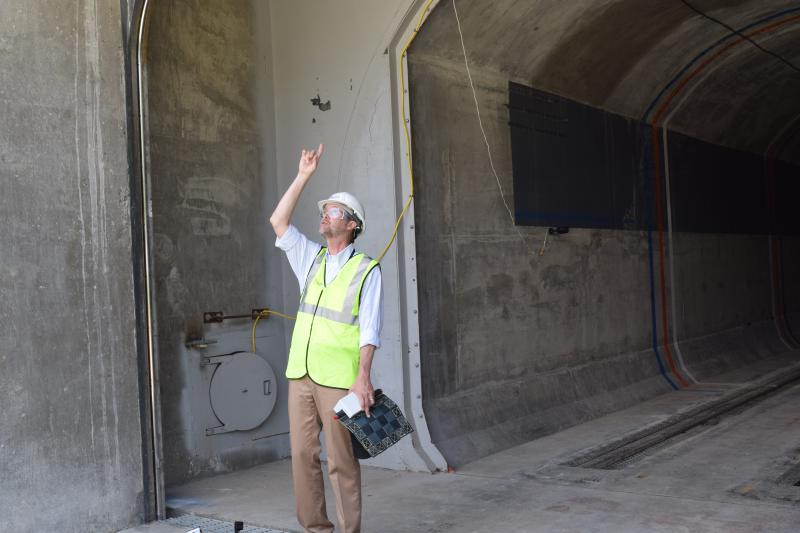 Dave Cadogen, ILC Dover's director of product development, talks about how the resilient tunnel plug works.