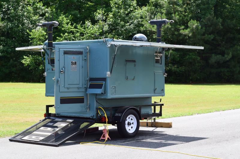 The mobile lab, which can test a bird for bird flu and generate results within minutes.