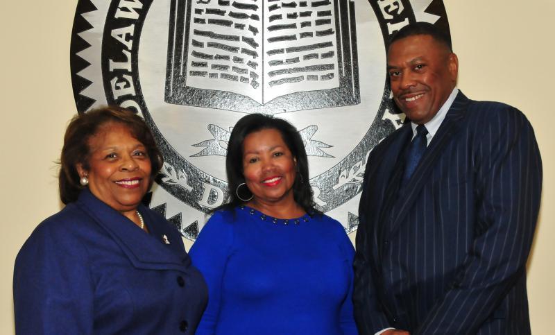 The DSU Board of Trustees has selected Dr. Wilma Mishoe as the interim University president, Dr. Devona Williams as the board's interim chairwoman and John Ridgeway as interim vice chair.