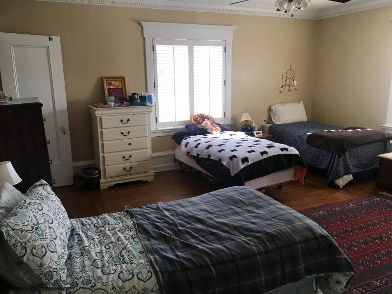 Beds at the Limen House Sober Living Home for Women in Wilmington.