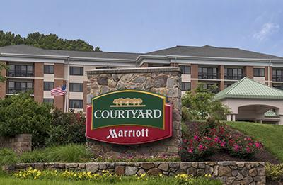 A Courtyard hotel by Marriott in Newark