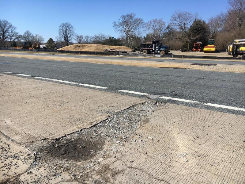Route 141 Centre Road project will replace the failing concrete road starting Monday.