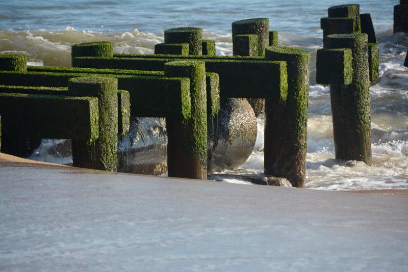 A Rehoboth Beach storm drain.