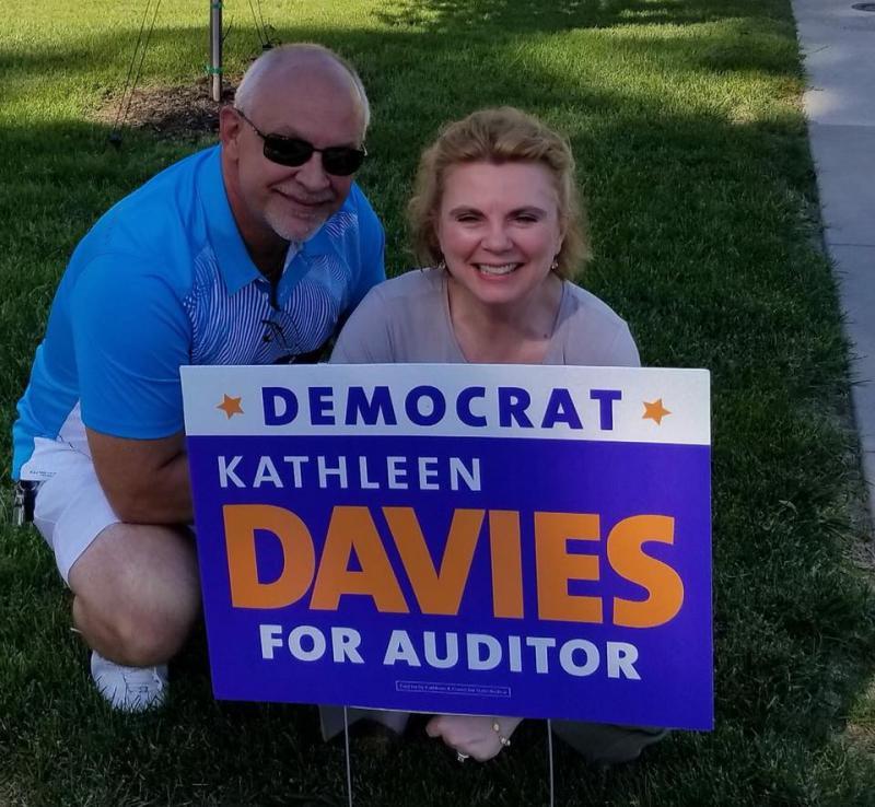 Kathleen Davies with Jerry Davies