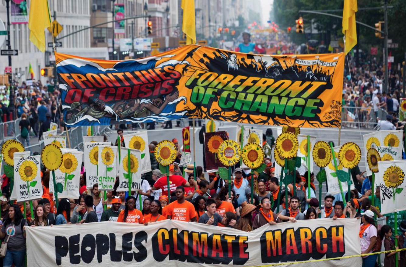 Area residents will participate in DC People's Climate Movement