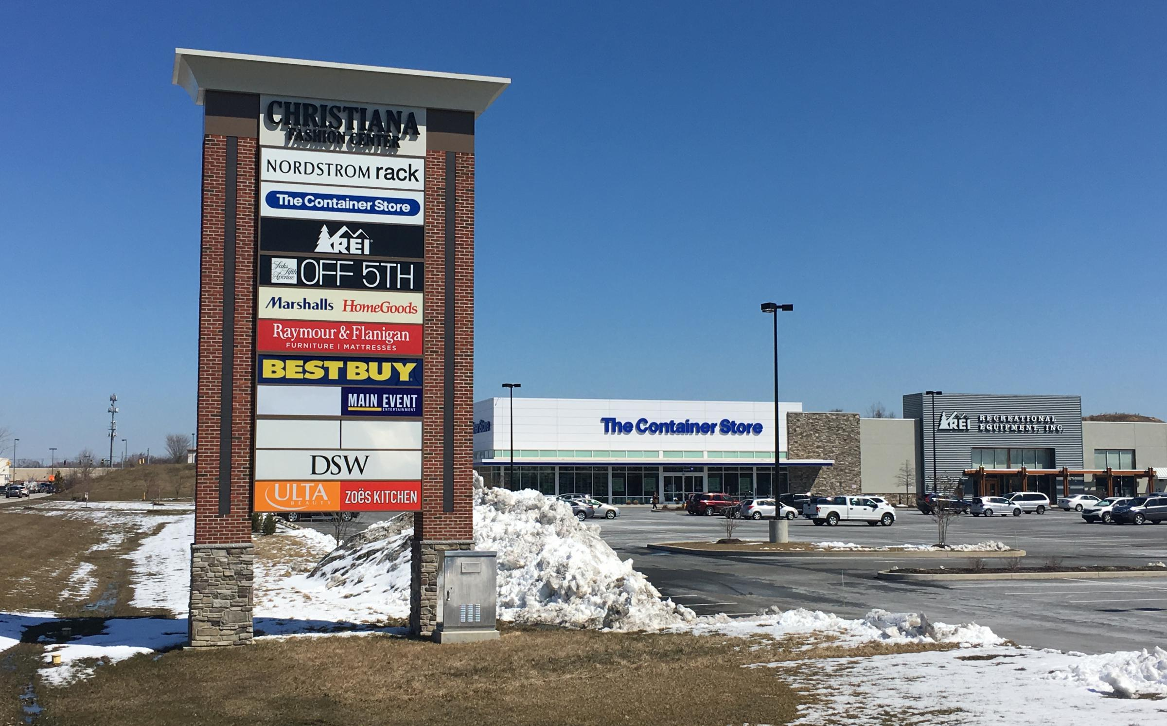 Christiana Fashion Center growing in face of retail store closures ...