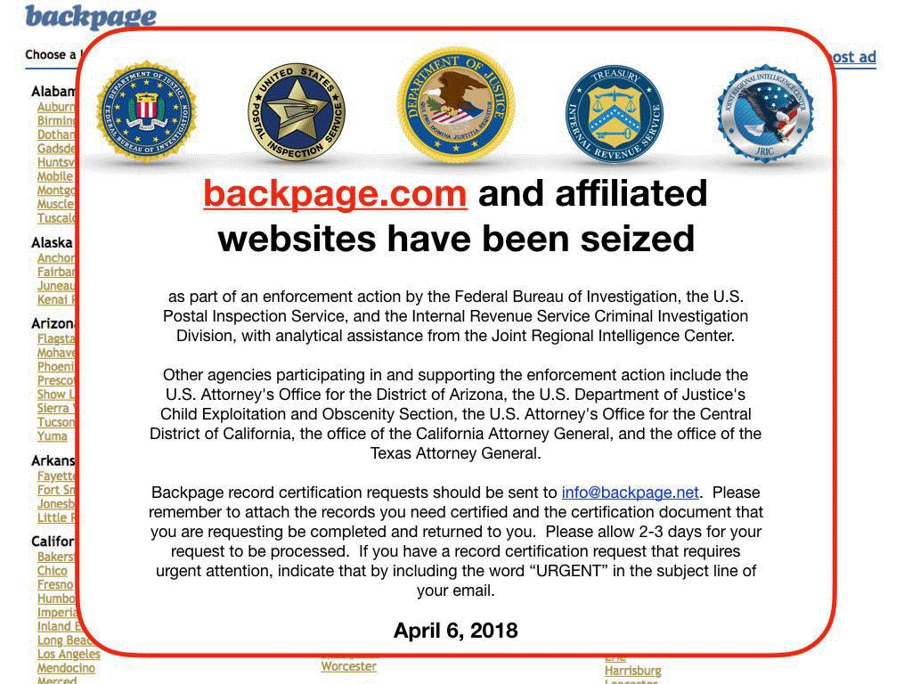 Ag Denn Seeks To Dissolve Backpage Com Llc While Groups Push For More Reforms
