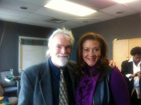 WDIY Executive Director Bill Dautremont-Smith and Michele Norris