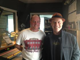 Blend host Keith Kelleher and Thomas Dolby