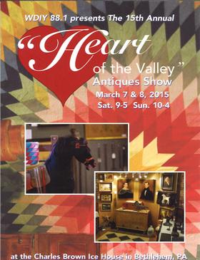Heart of the Valley Antiques Show @ The Charles Brown Ice House | Bethlehem | Pennsylvania | United States