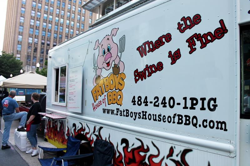 Lehigh Valley-based catering truck Fat Boys House of BBQ.