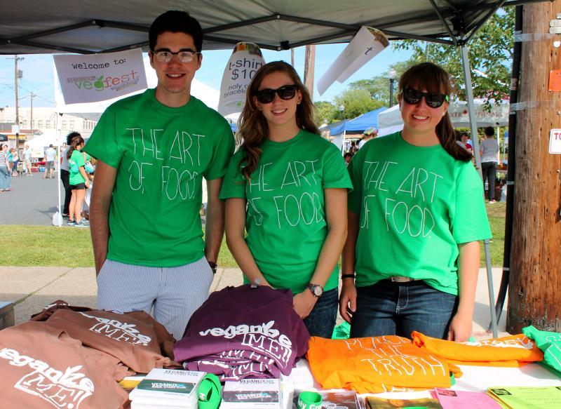 VegFest volunteers.