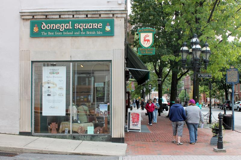 Omar Rodriguez at Donegal Square