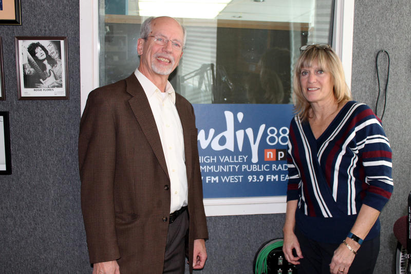 Dr. Paul Pierpoint (left) and Sally Handlon (right)