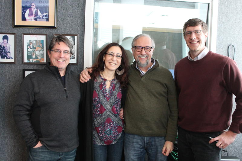Left to right: Tim Bonner, Hala Bonner, Jean Paul Hepp, Michael Drabenstott