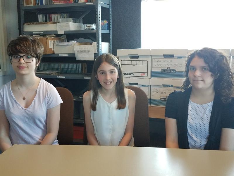 Left to right: Victoria Farrell, Kara Gardner, Olivia Sica