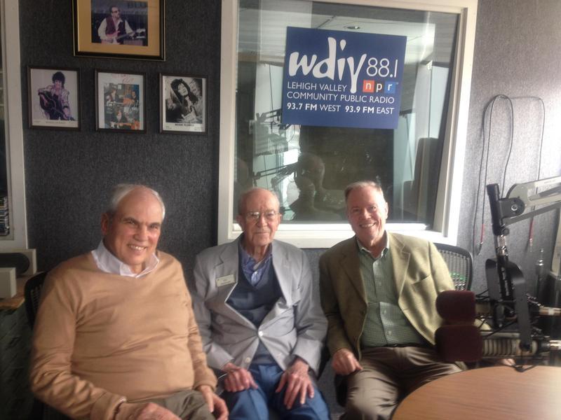 Left to right: John Dodds, Ed Donely, John Pearce