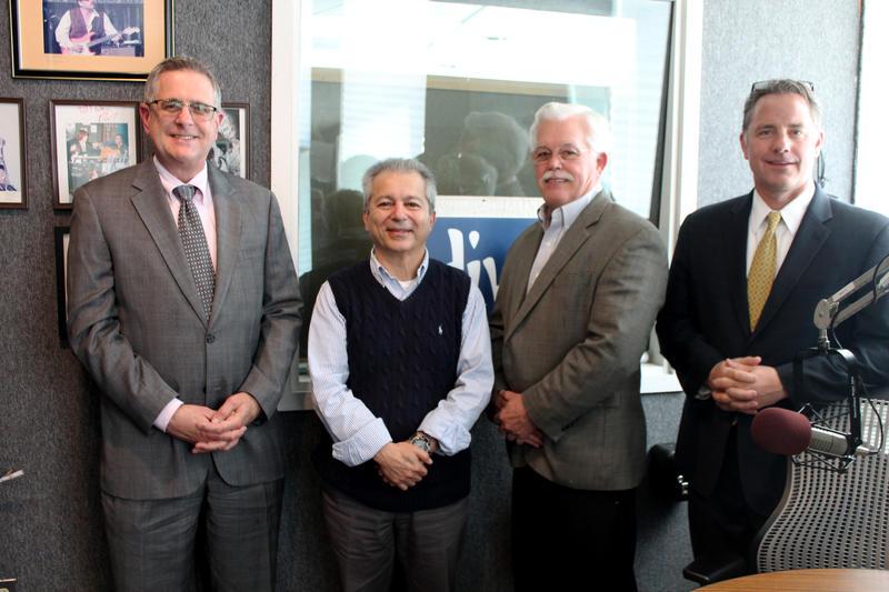 Neal Koplin, Dr. Kamran Afshar, Luke Cunningham, John Callahan