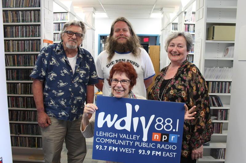 George Millerv (left), JP Jordan (top center), Deborah Sacarakis (lower center), Kate Scuffle (right)