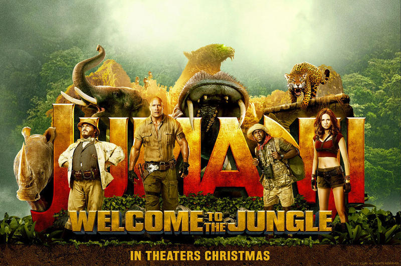 Jumanji: Welcome to the Jungle was released December 20, 2017