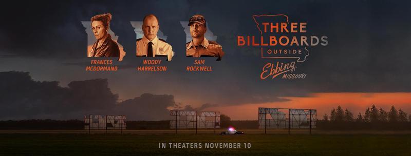 Three Billboards Outside Ebbing, Missouri was released November 10, 2017