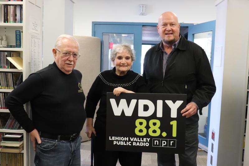 Left to right: Clay Smith, Eleanor Bobrow, Jeff Bartholomew