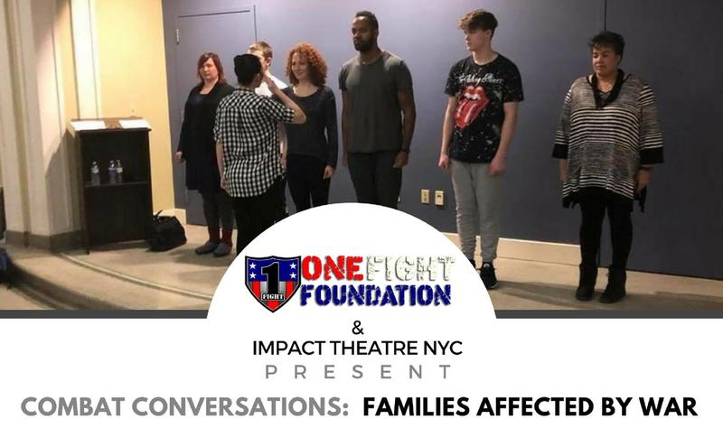 """Combat Conversations: Families Affected by War"" takes place on April 7 at One Flight Foundation in Allentown."