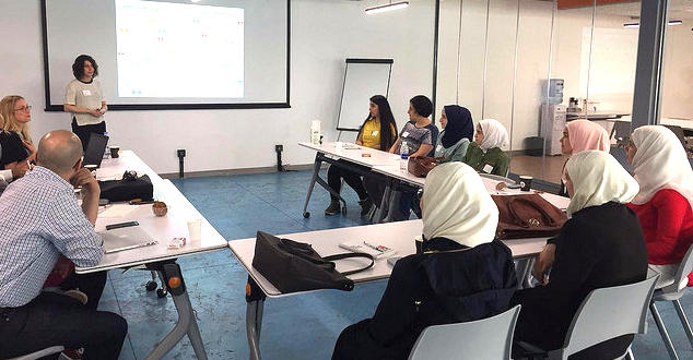 Bpeace launched the 2018 Pathways to Business program in Lebanon, working with 19 young women--nearly all refugees from war-torn Syria.