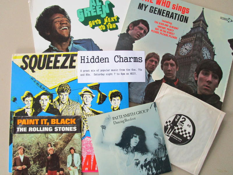 Hidden Charms features music spanning the 1960s through the 1980s.