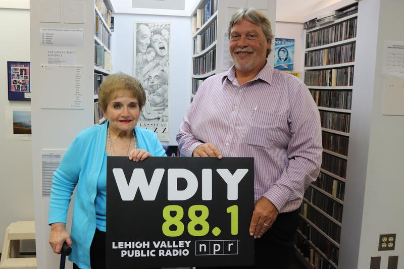 Host Eleanor Bobrow and Jim Presto