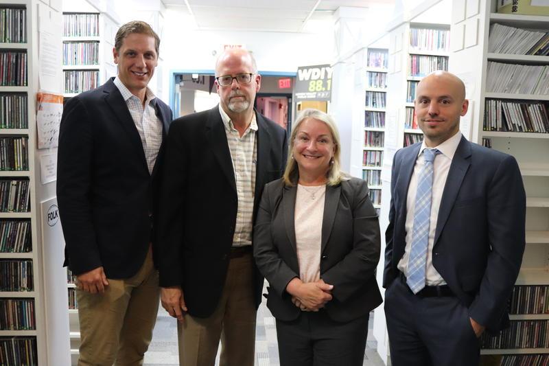 Left to right: Marty Nothstein, Alan Jennings, Susan Wild, Tim Silfies.