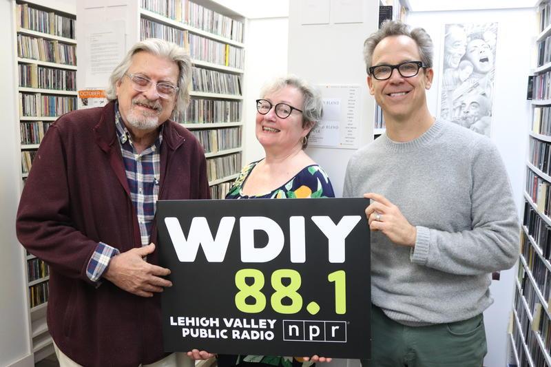 Left to right: George Miller, Kate Scuffle, Zeke Zelker