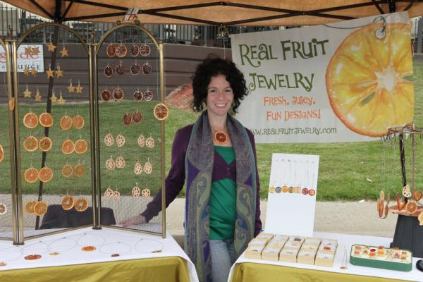 Zoe Einbinder in 2011 from Real Fruit Jewelery.
