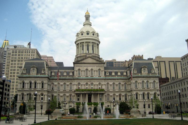 Baltimore City Hall.