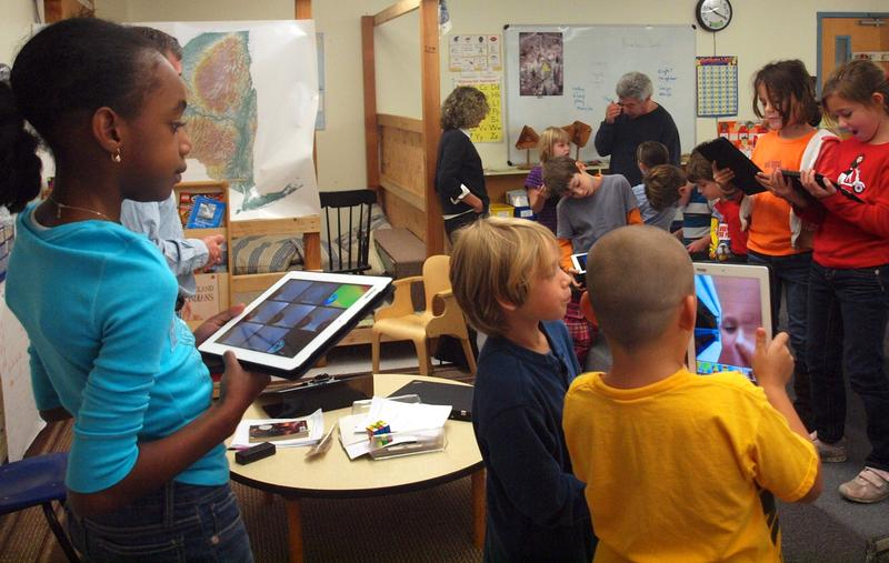 IPads being integrated into a classroom in Poughkeepsie, NY.