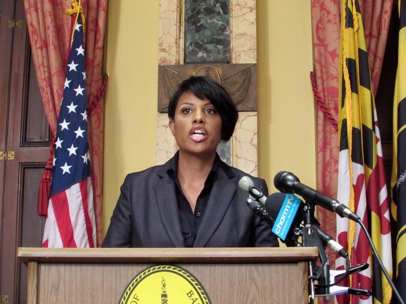 Mayor Stephanie Rawlings-Blake.