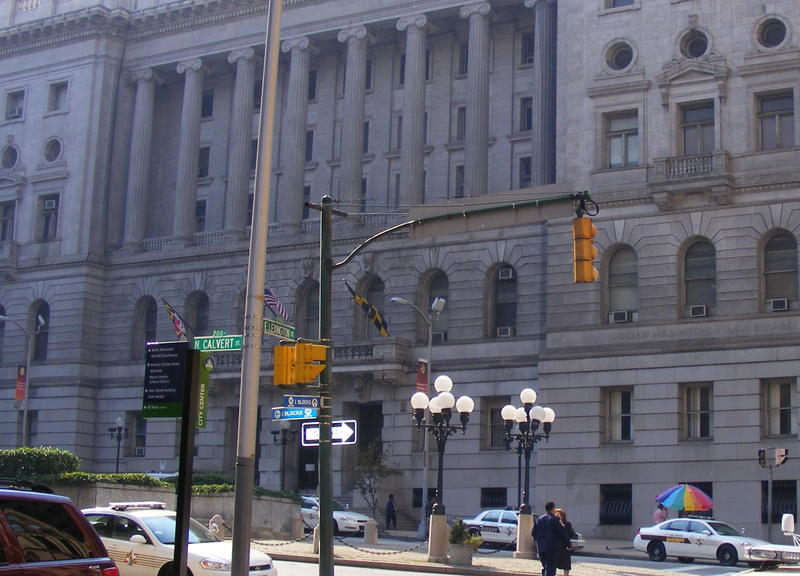 Clarence M. Mitchell Jr. Courthouse in Baltimore.