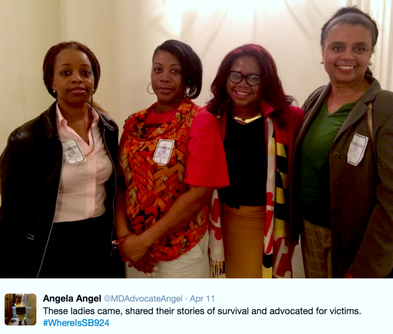 "Maryland state Delegate Angela Angel talks about her efforts to overhaul domestic violence law in what's called ""The Free State"" and the barriers she faced in pushing it – and what that means for Black women."