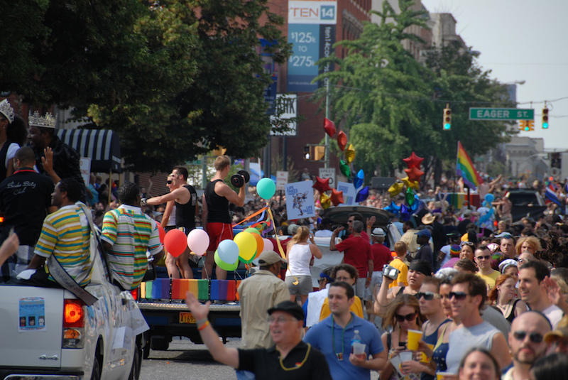 Baltimore pride 2008.