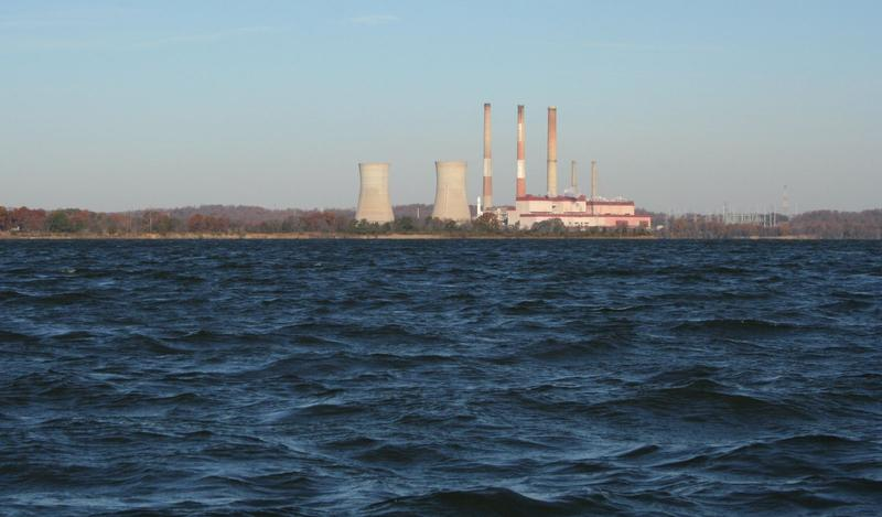 Chalk Point Generating Station located in Maryland on the Patuxent River.
