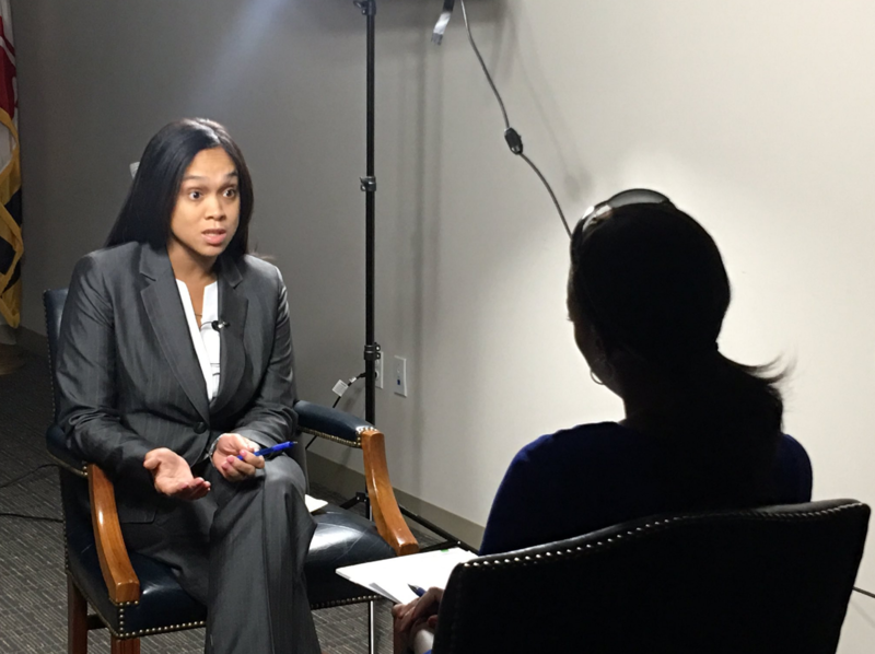 SA Mosby discusses conviction of man who disguised himself as woman and carried out a brutal murder. Sept 26, 2016.