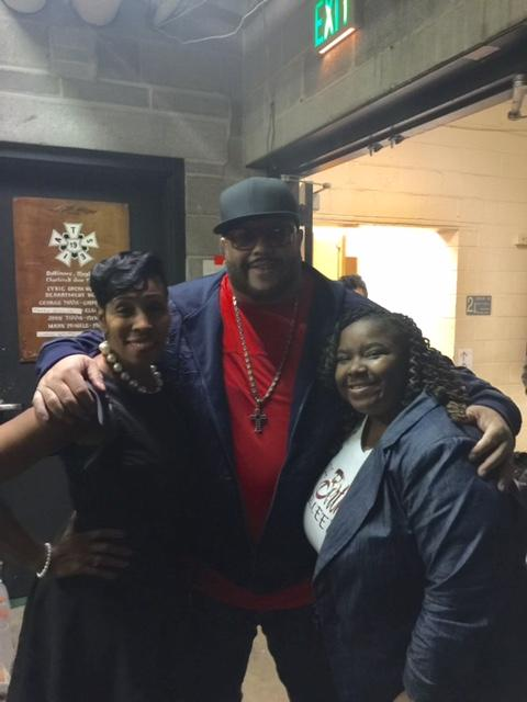 Ernestine Jones, Fred Hammond, Kelle' Avent