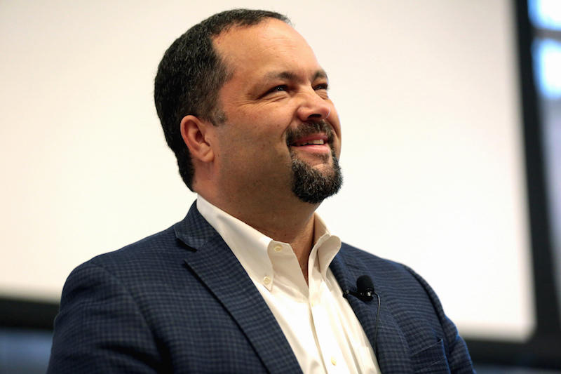 "Benjamin Jealous, former President and CEO of the NAACP, speaking at an event titled ""The Corporatization of Criminal Justice"" hosted by the Sandra Day O'Connor College of Law at the Beus Center for Law and Society at Arizona State University."