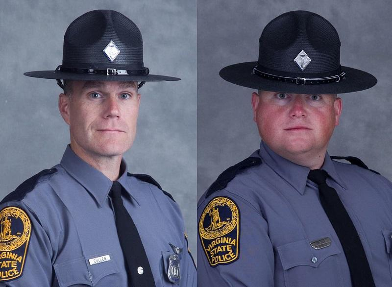 The pilot, Lt. H. Jay Cullen, 48, of Midlothian, and Trooper-Pilot Berke M.M. Bates, of Quinton, died in helicopter crash Saturday