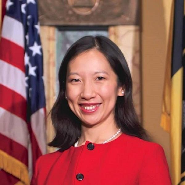Baltimore City Health Commissioner, Dr. Leana Wen