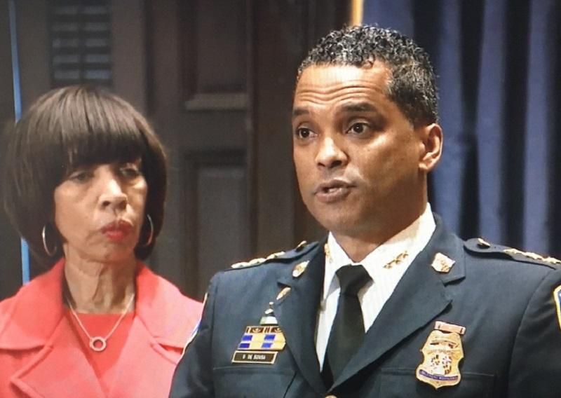 Pugh Introduces DeSousa as new Police Commissioner